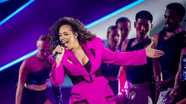 Glennis Grace geniet na van songfestivaloptreden: 'Meer dan trots'