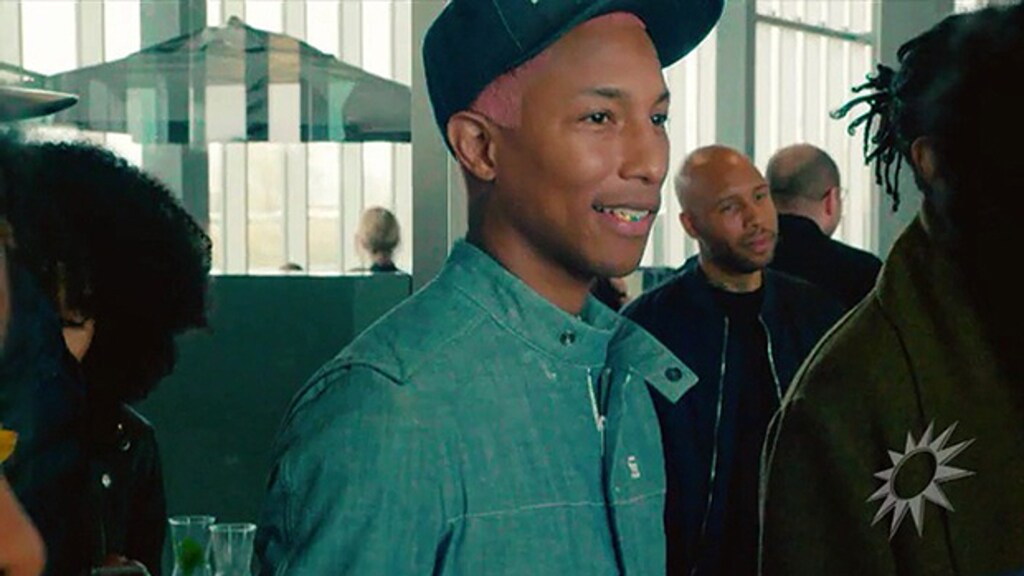 Pharrell Williams duikt op bij G-Star Nederland