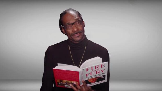 Snoop Dogg en Hillary Clinton lezen voor uit Fire & Fury