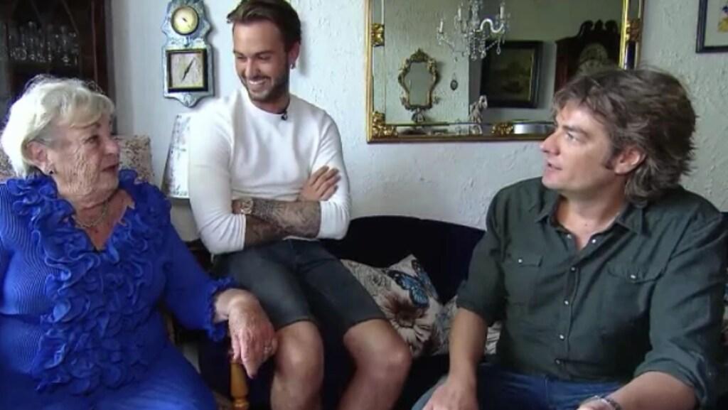 Dave Roelvink en zijn oma gaan samen naar Ibiza