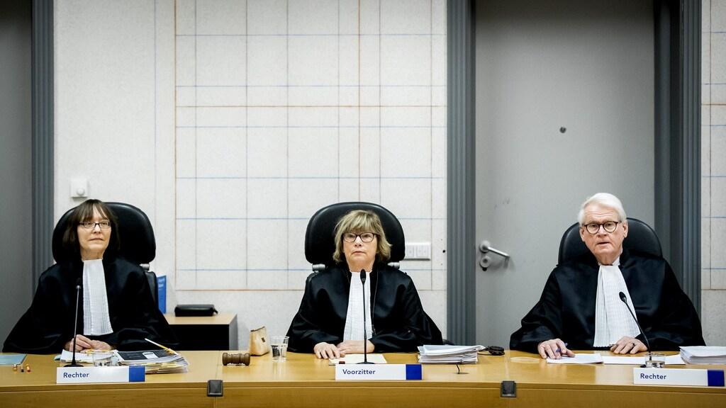 De rechters die zullen oordelen over de zaak