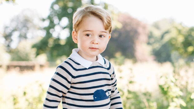 Smelt weg bij de zoetste kiekjes van de kleine prins George
