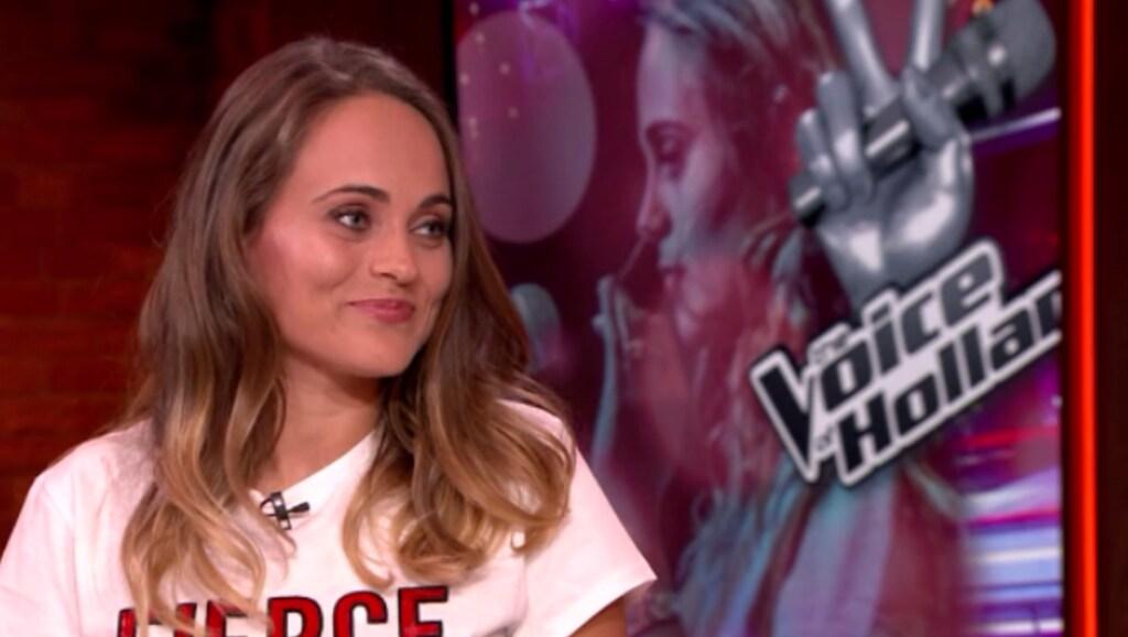 Iris Noëlle raakt de coaches van The Voice tot op het bot