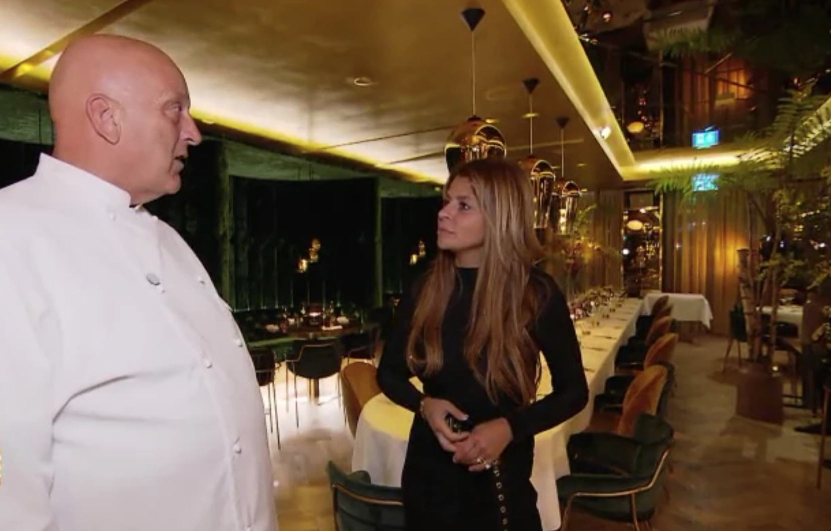 a29ebe3033f Alles blinkt in Herman den Blijkers nieuwe restaurant Goud | RTL Boulevard