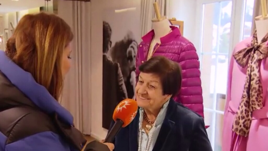 De favoriete kledingwinkel van de Oranjes in Lech