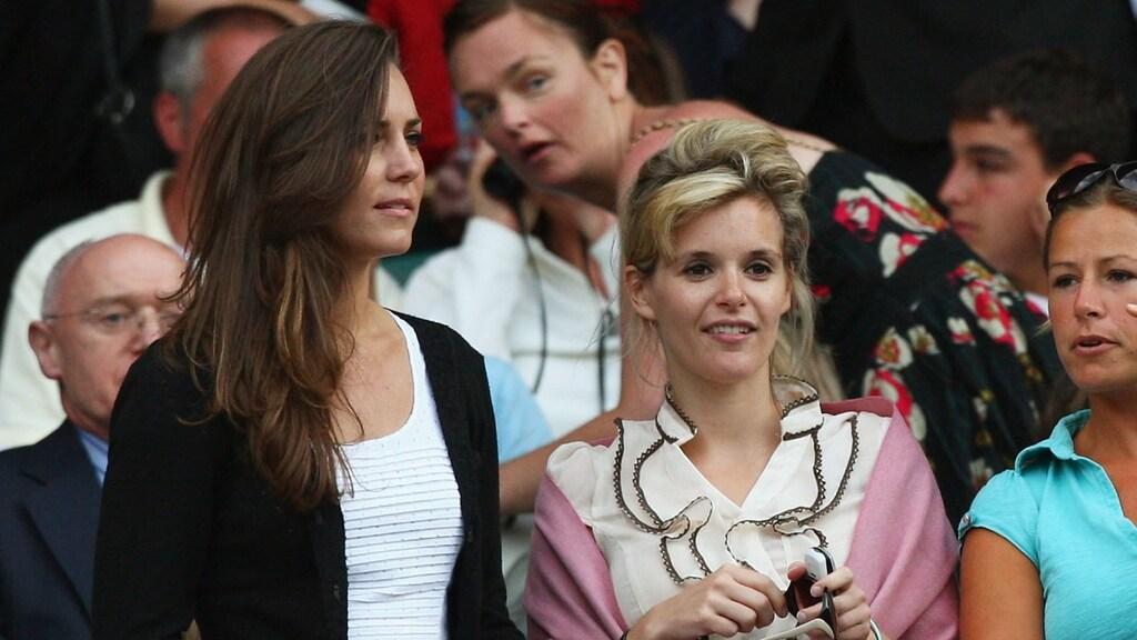Kate en Sophie op Wimbledon in 2008