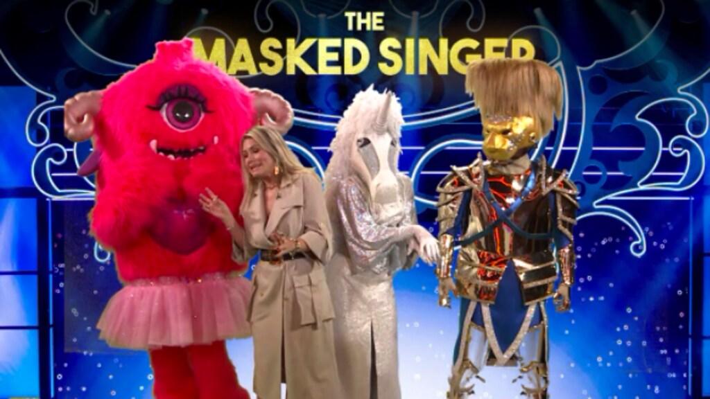 Wie zitten er toch in de pakken in The Masked Singer?
