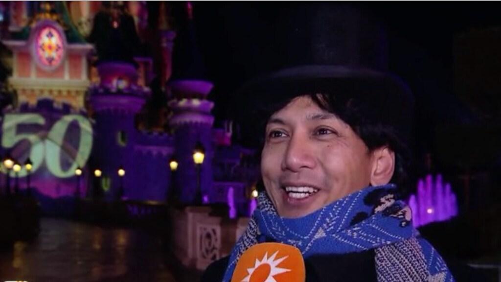 Wibi Soerjadi viert vijftigste verjaardag in Disneyland Parijs