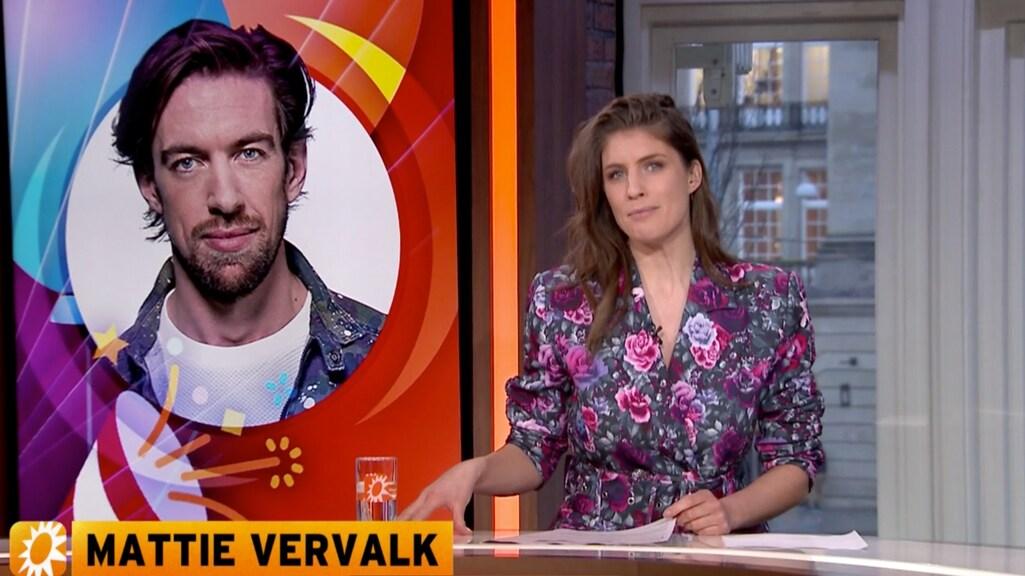 Marieke zet jarige Mattie in het zonnetje in RTL Boulevard