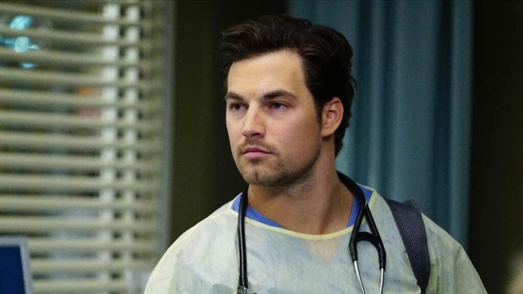 Giacomo Gianniotti als Andrew DeLuca in 'Grey's Anatomy'