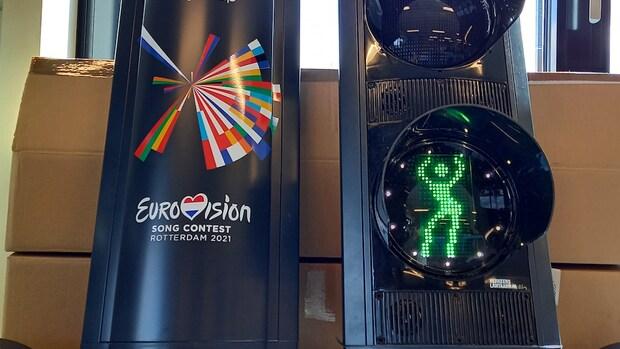 Ik wacht wel even: Rotterdam lanceert tijdelijk ABBA-stoplicht