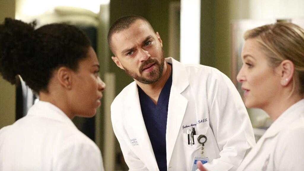 Jesse Williams in 'Grey's Anatomy'