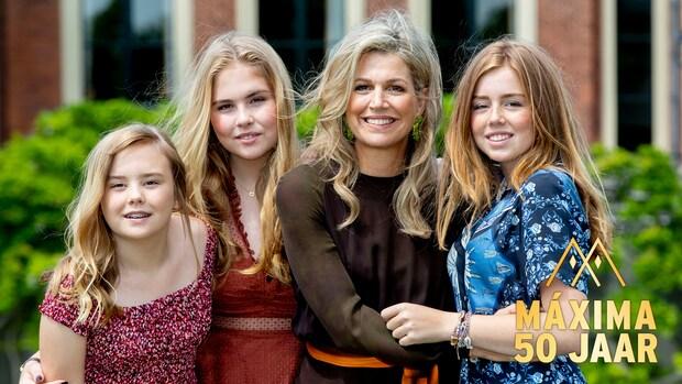 De bijzondere band tussen koningin Máxima en haar dochters