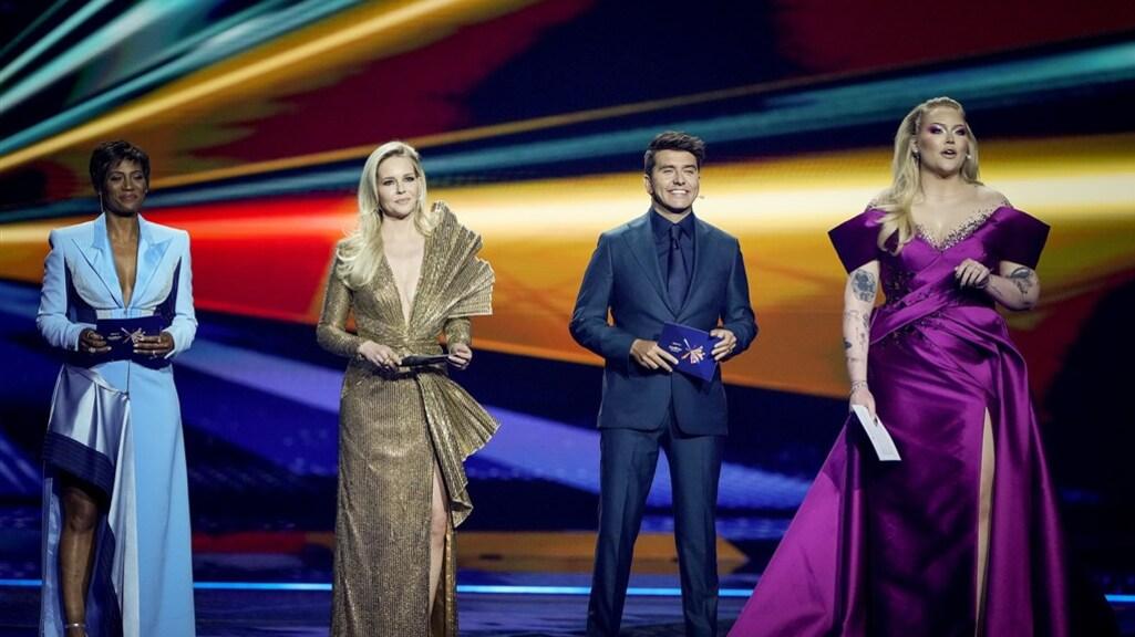 Presentatoren Eurovisiesongfestival