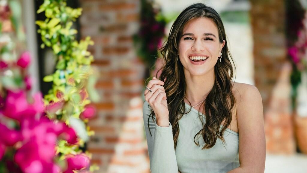 Julia voor 'De Bachelor'