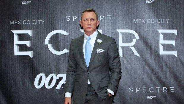 Baby voor 007 Daniel Craig
