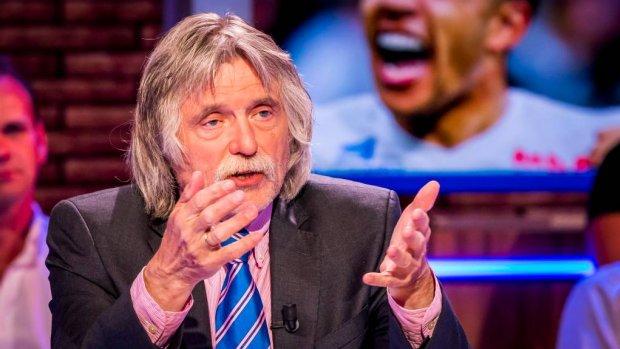 Voetbal Inside geen kijkcijferhit na uitspraken Johan Derksen