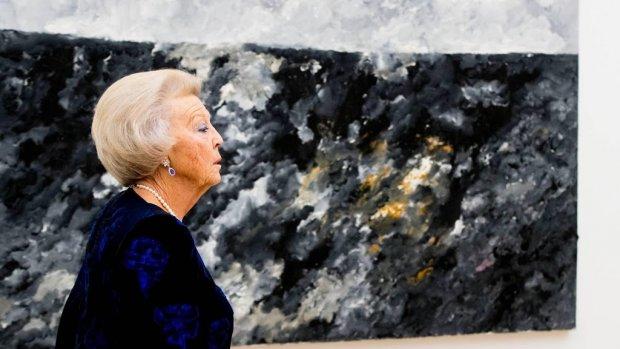 Prinses Beatrix behoort tot belangrijkste kunstverzamelaars