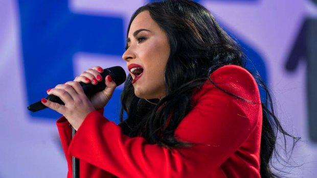 Fans teleurgesteld in Demi Lovato