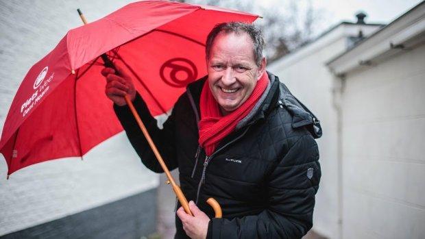 Piet Paulusma vrijdag om de tafel met Jan Slagter