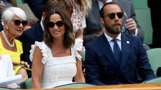 Zwangere Pippa Middleton steelt de show op Wimbledon