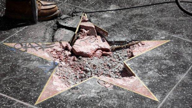 Raad Hollywood ziet Trump-ster het liefst verdwijnen