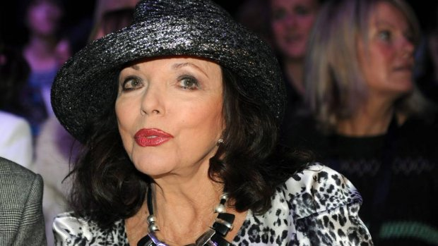 Joan Collins heeft rolletje te pakken in American Horror Story