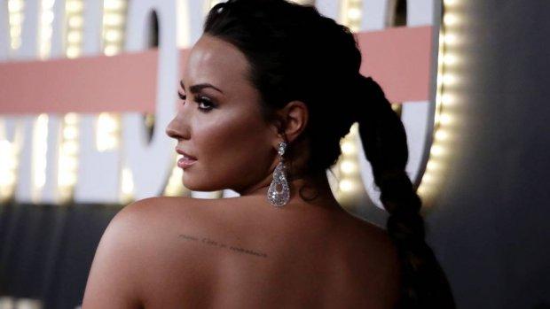 Demi Lovato boos over 'Persoon van het Jaar'