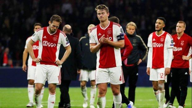Sterren balen flink van verlies Ajax