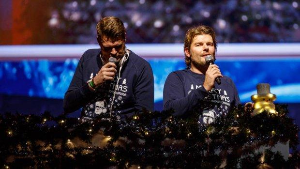 Coen en Sander live bij Vrienden van Amstel