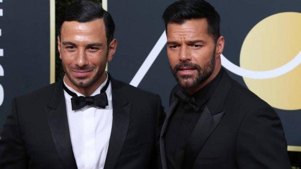 Ricky Martin is in het huwelijksbootje gestapt