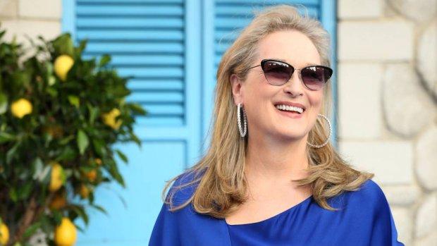 Meryl Streep wordt voor het eerst oma