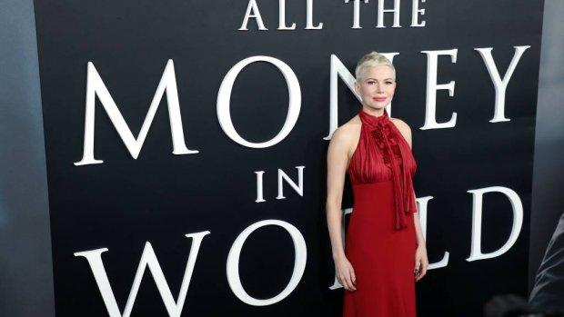 Michelle Williams prijst Mark Wahlberg's donatie