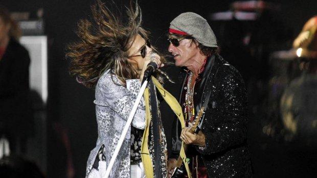 Aerosmith strijkt neer in Las Vegas