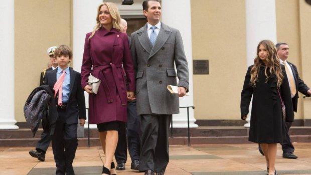 Donald Trump junior gaat scheiden