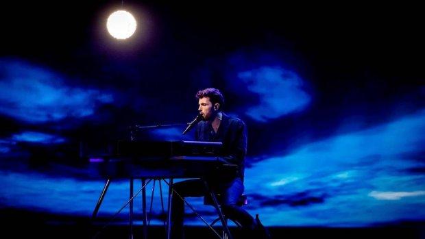 Duncan is topfavoriet voor halve finale songfestival