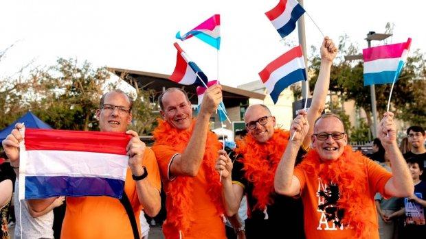 Nederlandse fans klaar voor Duncan