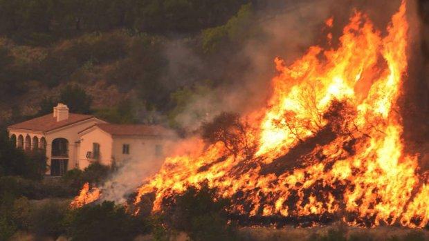 Californië brandt nog steeds