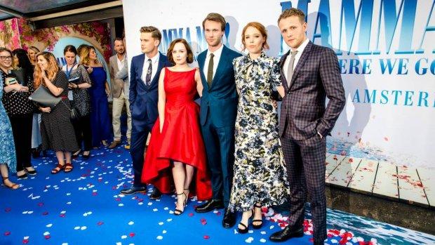 Mamma Mia! 2 in première in Amsterdam