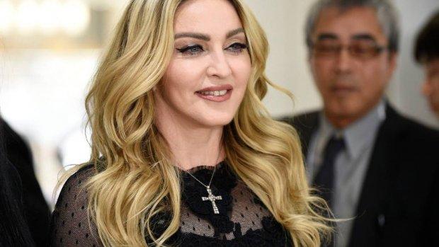 Madonna viert verjaardag met unieke opname