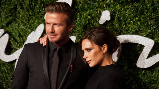 Familie Beckham herenigd voor kerstdagen