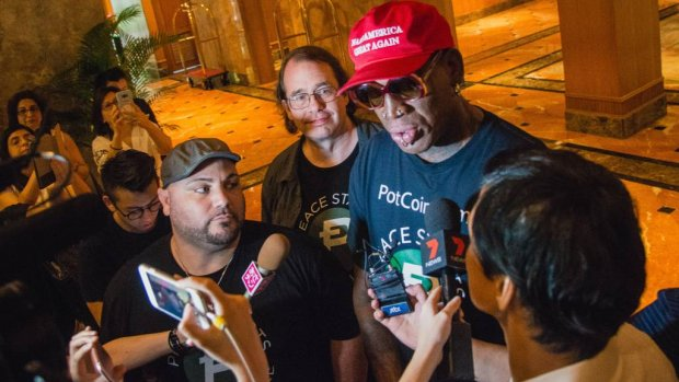 Dennis Rodman: Kanye mag mee naar Noord-Korea