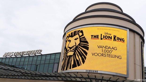 The Lion King best bezochte musicalproductie ooit