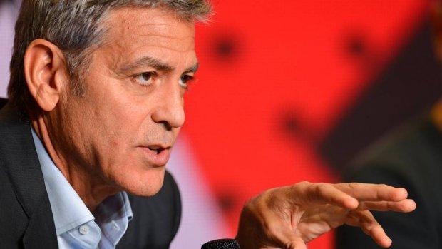 George Clooney weer helemaal de oude