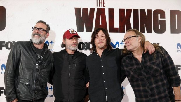 Negende seizoen The Walking Dead in oktober