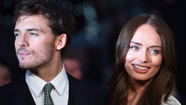 Acteurs Laura Haddock en Sam Claflin uit elkaar