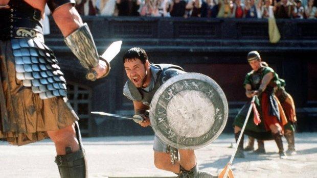 Attributen uit The Shining en Gladiator op veiling