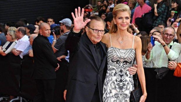 Larry King gaat voor achtste keer scheiden