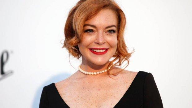 Lindsay Lohan gezicht van advocatensite