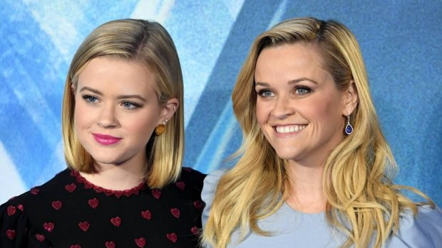 Reese Witherspoon in tranen om vertrek dochter